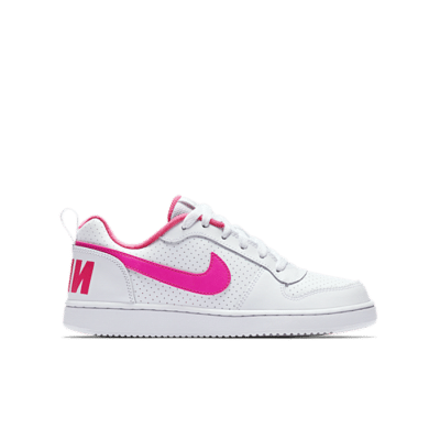 NikeCourt Borough Low Wit 845104-100