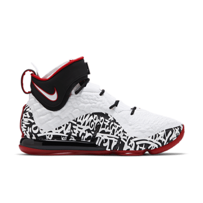 Nike LeBron 17 'LeBron 4 Graffiti' White CT6047-100