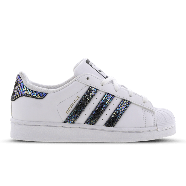 adidas Superstar Snake Stripe White BB5409