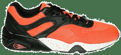 PUMA Trinomic R698 Engineered Mesh Block Sneaker 361925-02 oranje 361925-02