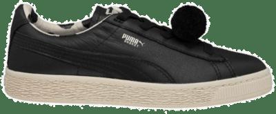 PUMA x Tinycottons Basket PomPom Kinderen Sneaker 366191-01 zwart 366191-01