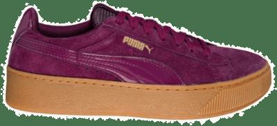 PUMA Vikky Plattform Dames Low Sneaker 363287-08 violet 363287-08