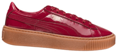 Sneakers Wns Basket Platform Patent by Puma Rood 363314/04