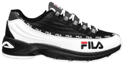 FILA Dragster DSTR97 Heren Retro Sneaker 1010713-90T-2 zwart 1010713-90T-2