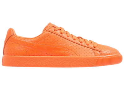Puma Clyde Perforated Trapstar Golden Poppy 364714-02