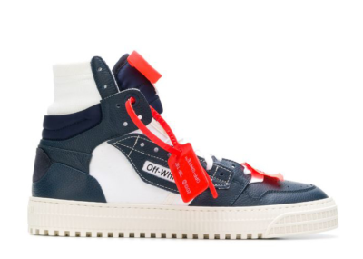 OFF-WHITE Off Court High Top Navy OMIA065F18A420123001
