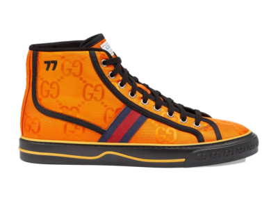 Gucci Off The Grid High Top Orange GG 628717 H9H80 7575