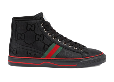 Gucci Off The Grid High Top Black GG 628717 H9H80 1074