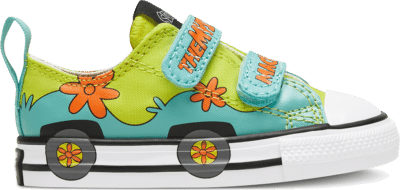 Converse Toddler Converse x Scooby-Doo Easy-On Chuck Taylor All Star Blue/Green/White 769075C