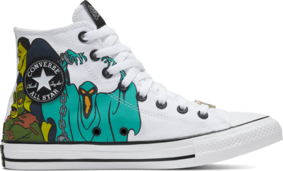 Converse Chuck Taylor All Star High Scooby-Doo White 169076C