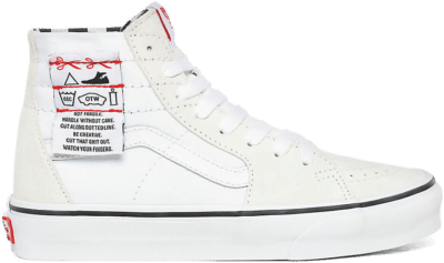 Vans UA SK8-Hi Tapered (DIY) White  VN0A4U1624F1