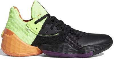 adidas Harden Vol. 4 Black Green Orange FV4713