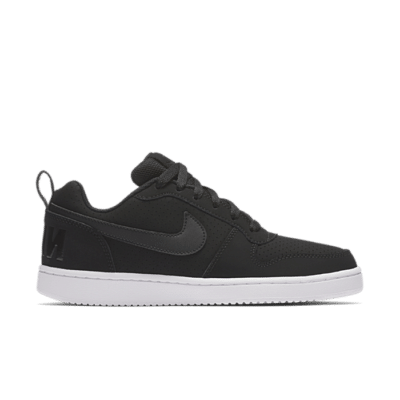 Nike Court Borough Low Zwart 844905-001