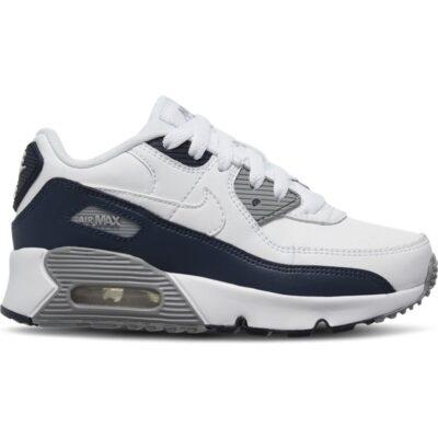 Nike Air Max '90 sneaker met leren details Wit