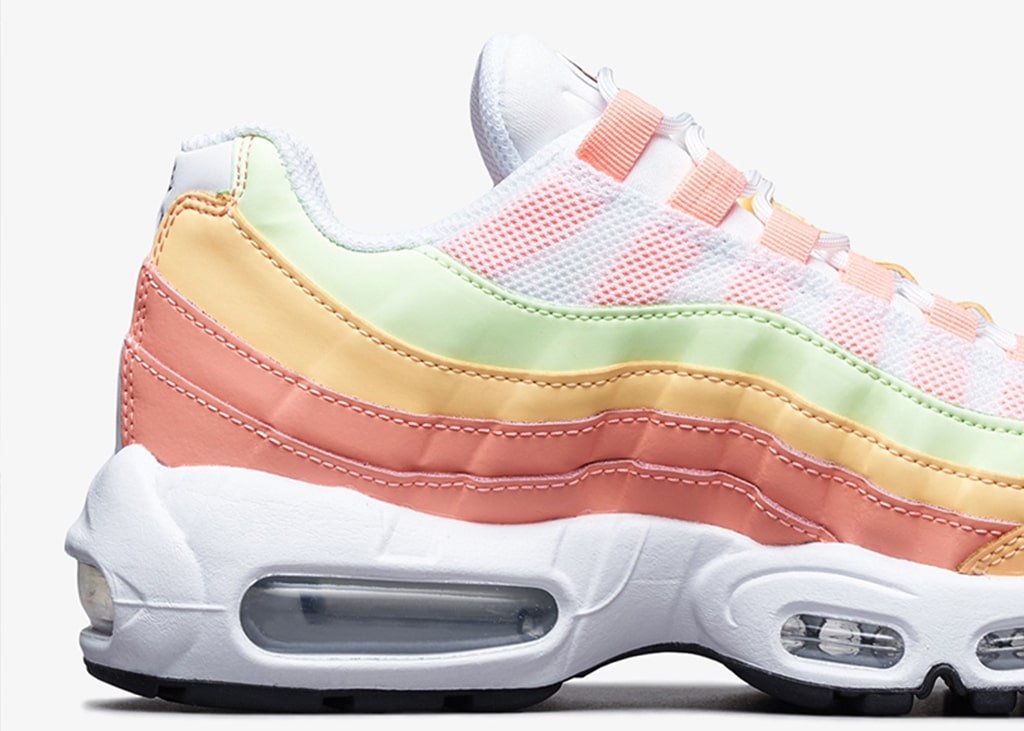 For the ladies: Nike Air Max 95 WMNS Melon Tint