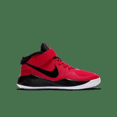 Nike Team Hustle D 9 FlyEase Rood BV2952-600