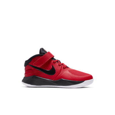 Nike Team Hustle D 9 FlyEase Rood BV2951-600