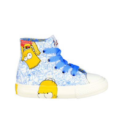 Converse Chuck Taylor All Star High Simpsons White 741391C