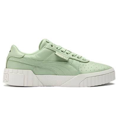 Puma – Cali – Sneakers met reliu00ebf in groen Groen 36973402