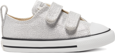 Converse Summer Sparkle Easy-On Chuck Taylor All Star Low Top voor peuters Photon Dust/Natural Ivory 767777C