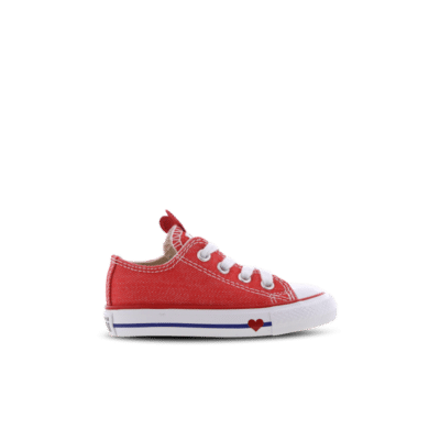 Converse Chuck Taylor All Star Sucker For Love Low Red 763568C