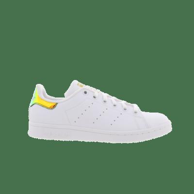 "adidas Stan Smith ""Gold Iridescent"" White CP9839"