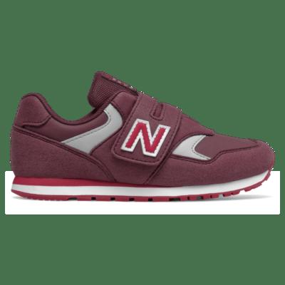 New Balance 393 Hook and Loop NB Burgundy/Neo Crimson