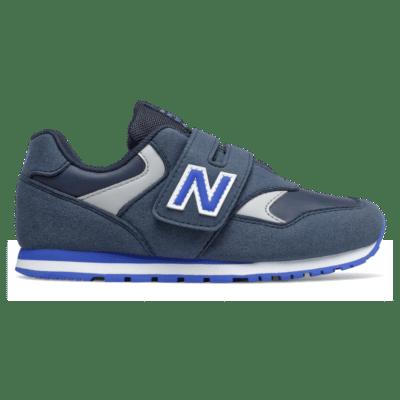 New Balance 393 Hook and Loop Natural Indigo/Cobalt Blue