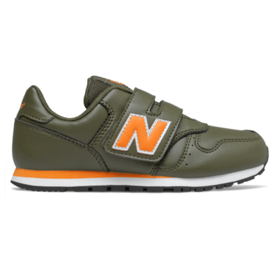 New Balance 373 Hook and Loop Oak Leaf Green/Persimmon