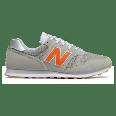 New Balance 373v2 Grey Oak/Varsity Orange