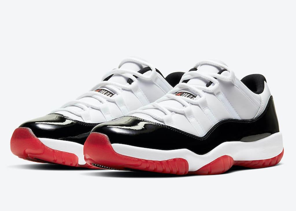 Air Jordan 11 Low White Bred zijn een weekje uitgesteld