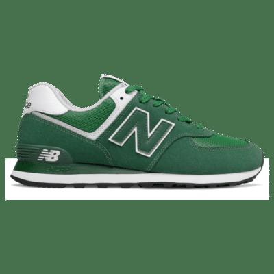 New Balance 574 Team Forest Green/Varsity Green