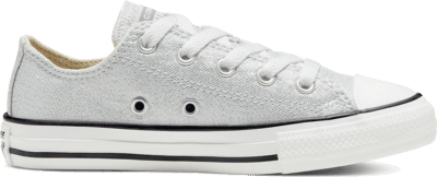 Converse Summer Sparkle Chuck Taylor All Star Low Top voor kids Photon Dust/Natural Ivory 667571C