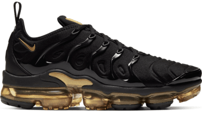 Nike Air VaporMax Plus Black Metallic Gold CW7299-001