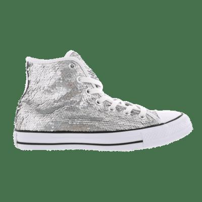 Converse Chuck Taylor All Star Hi Holiday Party Silver 553440C