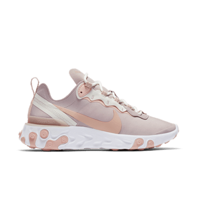 Nike Wmns React Element 55 Platinum Violet  BQ2728-012