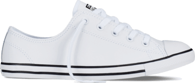 Converse Chuck Taylor All Star Dainty Leather White 537108C