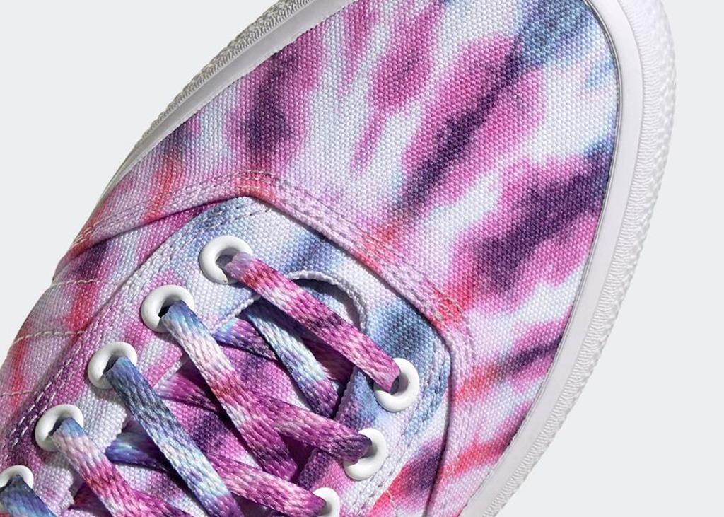 Nieuwe adidas 3MC Tie-Dye in paars, blauw en wit aangekondigd