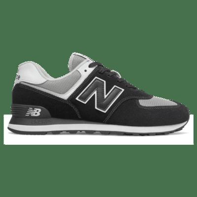 Herren New Balance 574 Black/White ML574SSN