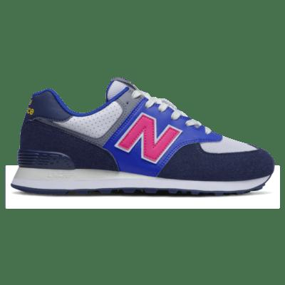 Herren New Balance 574 Navy/Exuberant Pink ML574MC2