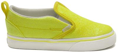 Vans Slip-On V Neon Glitter Yellow (TD) VN0A3488WKD