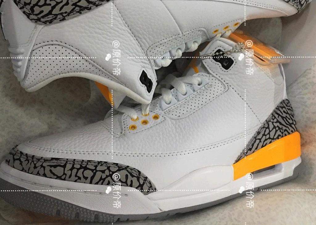 In het licht van de laser: Air Jordan 3 Laser Orange
