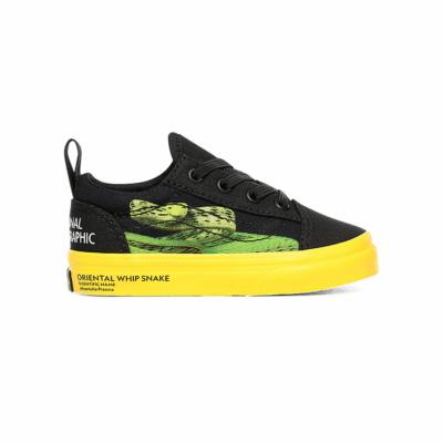 VANS Vans X National Geographic Old Skool-schoenen Met Elastische Veters Voor Peuters  VN0A4TZOWK6