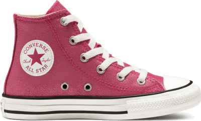 Converse Summer Sparkle Chuck Taylor All Star High Top voor kids Cerise Pink/Natural Ivory 667569C