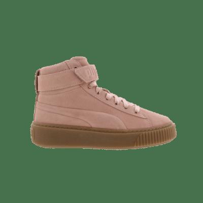 Puma Suede Platform High Pink 366018 02