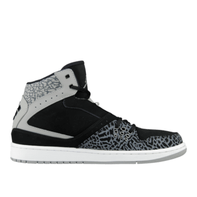 "Jordan 1 Flight ""Elephant"" Black 372704-055"