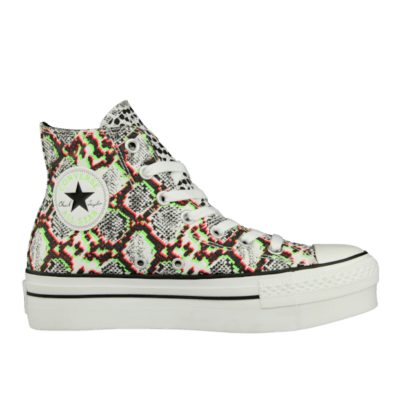 Converse Chuck Taylor All Star High Double Vulcanic Snake White 545093F