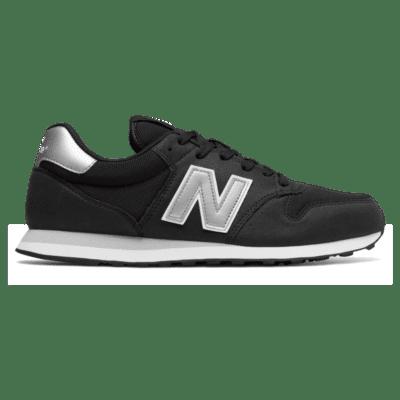 Herren New Balance 500 Black/Silver GM500KSW