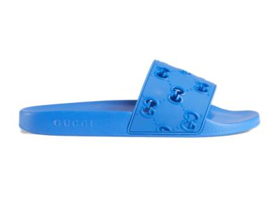 Gucci Slide GG Blue 575957 JDR00 4344