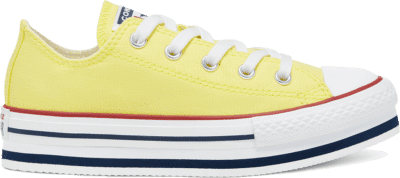 Converse Everyday Ease Platform Chuck Taylor All Star Low Top voor kids Zinc Yellow/White 668283C